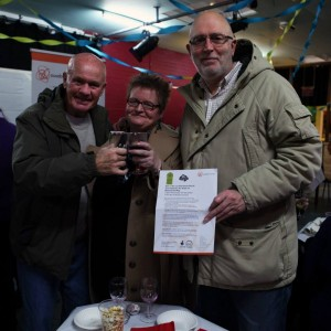 The Ouseburn Gang at the Beyond the Map celebration (Photo John Hipkin)